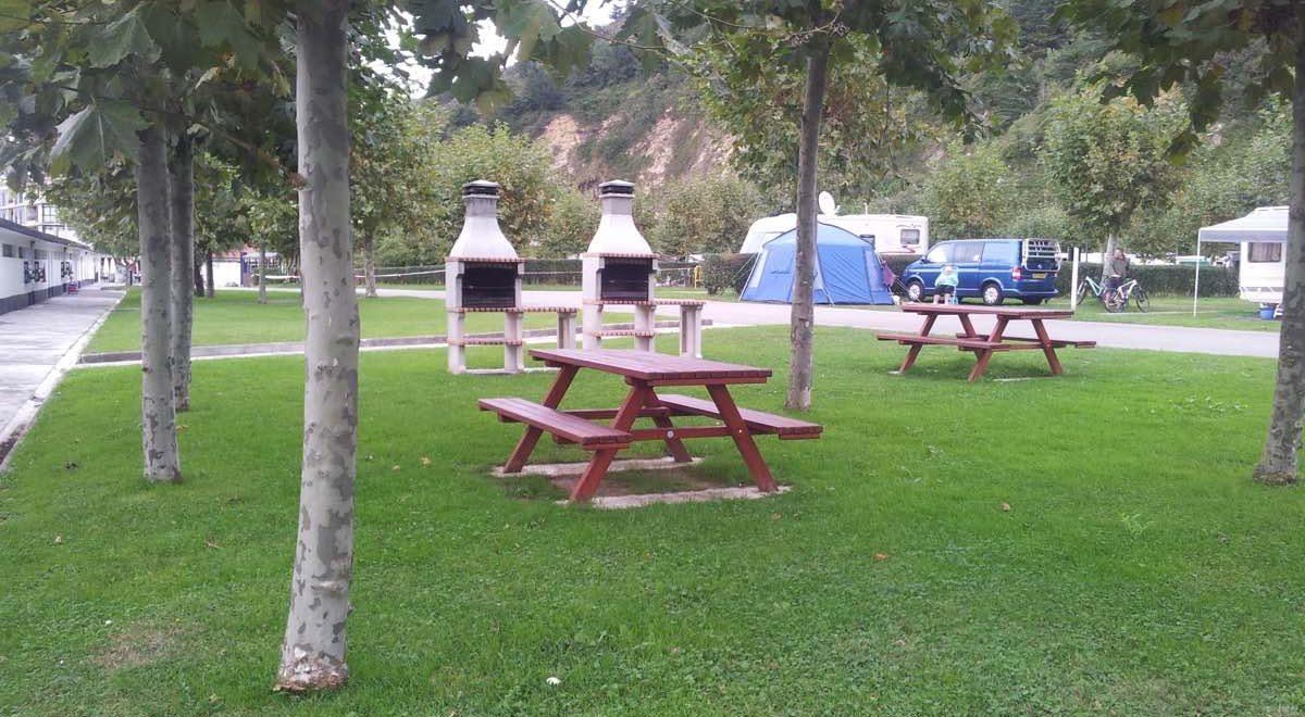 Zona Barbacoa del Camping